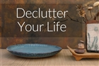 De-clutter your physical space and free up some mental space at the same time
